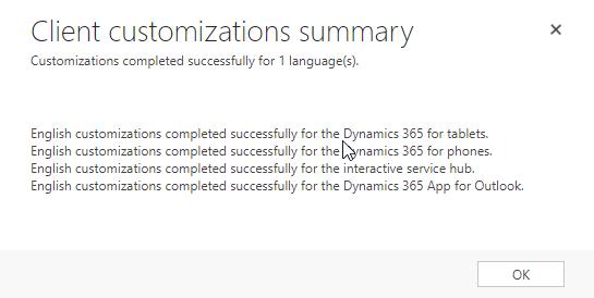 Dynamics 365 Outlook App – customizations - Microsoft Dynamics 365 (CRM)